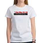 Gas Was $2.20 A Gallon Women's T-Shirt