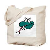 Crazy Lizard, Tote Bag