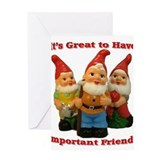 Important Friends! Greeting Card