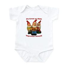 Important Friends! Infant Bodysuit