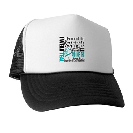 IWearTeal TributeRibbon Trucker Hat