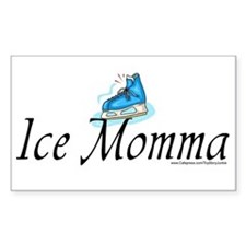 """Ice Momma"" Rectangle Decal"