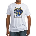 O'Meagher Family Crest Fitted T-Shirt