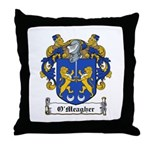 O'Meagher Family Crest Throw Pillow