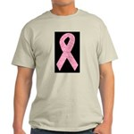 Breast Cancer Ribbon Art Light T-Shirt
