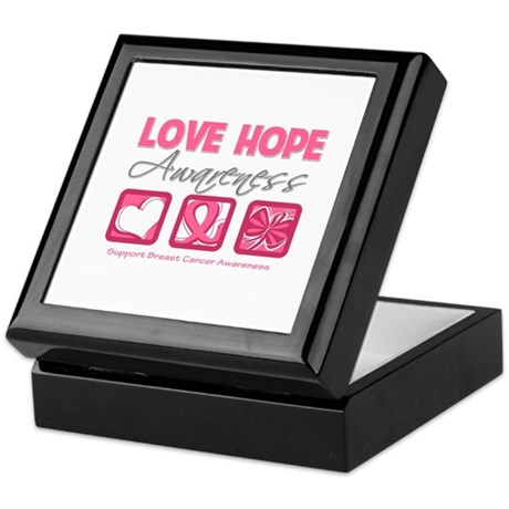 BreastCancer LoveHope Keepsake Box