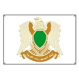 Libya Coat of Arms Emblem Banner
