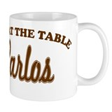 Not At The Table Carlos Small Mug