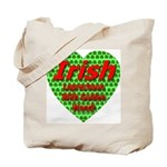 Irish Leprechaun With Golden Tote Bag