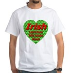 Irish Leprechaun With Golden White T-Shirt