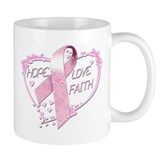 Hope Love Faith Small Mug