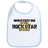 Rock Star - World's Best Dad Bib