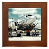 United DC-3 Framed Tile