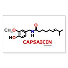 Molecularshirts.com Capsaicin Decal