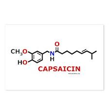 Molecularshirts.com Capsaicin Postcards (Package o
