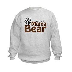 Mama Bear Claw 2010 Kids Sweatshirt