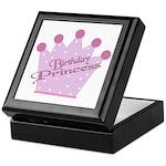 Birthday Princess Keepsake Box