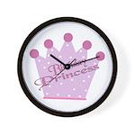 Birthday Princess Wall Clock