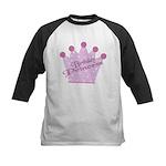 Birthday Princess Kids Baseball Jersey
