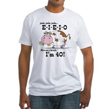 EIEIO 40th Birthday Shirt