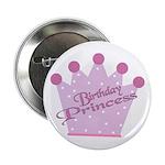 Birthday Princess Button