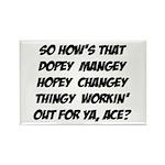 Hopey Changey Magnet