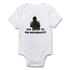 You gonna be the wormface! Onesie