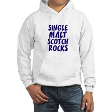 Single Malt Scotch Rocks Jumper Hoody