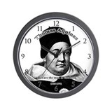 Thomas Aquinas 01 Wall Clock