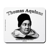 Thomas Aquinas 01 Mousepad