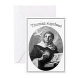 Thomas Aquinas 02 Greeting Cards (Pk of 10)