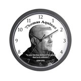 Thomas Aquinas 03 Wall Clock