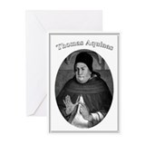 Thomas Aquinas 04 Greeting Cards (Pk of 10)