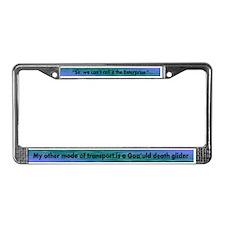 Enterprise/Death Glider License Plate Frame