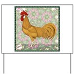 Minorca Rooster #2 Yard Sign