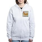 Minorca Rooster #2 Women's Zip Hoodie