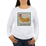 Minorca Rooster #2 Women's Long Sleeve T-Shirt