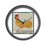 Minorca Rooster #2 Wall Clock