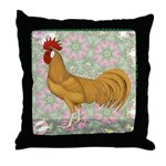 Minorca Rooster #2 Throw Pillow
