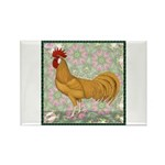 Minorca Rooster #2 Rectangle Magnet (10 pack)