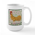 Minorca Rooster #2 Large Mug