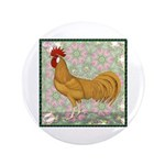 "Minorca Rooster #2 3.5"" Button (100 pack)"