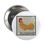 "Minorca Rooster #2 2.25"" Button (10 pack)"