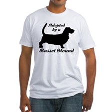 ADOPTED by Basset Hound Shirt