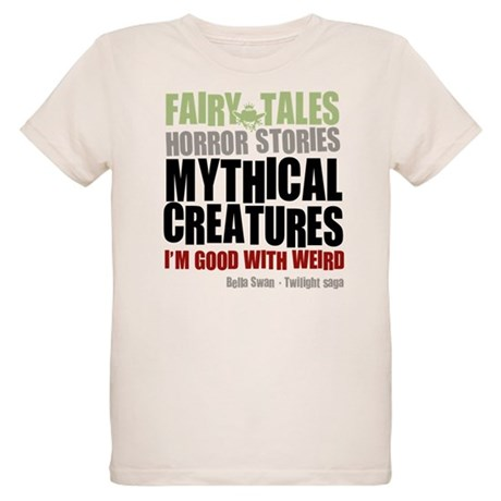 Twilight Weird Organic Kids T-Shirt