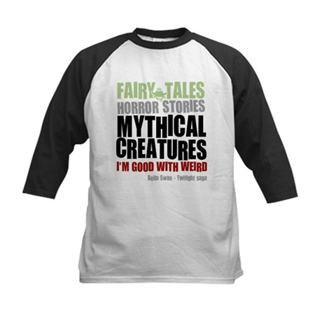 Twilight Weird Kids Baseball Jersey
