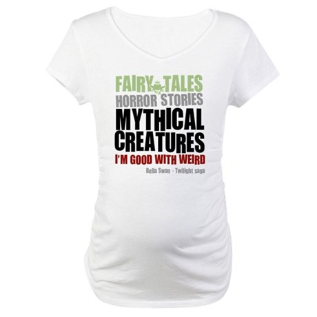 Twilight Weird Maternity T-Shirt