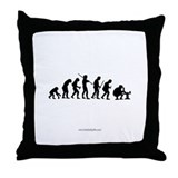 True Evolution... Throw Pillow