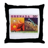 Granada UFO 3 Throw Pillow