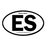 Eastern Shore Oval Decal